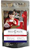 Hibiscus Rose Berry Organic Loose Herbal Tea Blend - Caffeine & Gluten Free. Kids love the fruity Taste! Delicious Iced or Hot - super healthy and refreshing! Dr. Rosemary's Tea Therapy