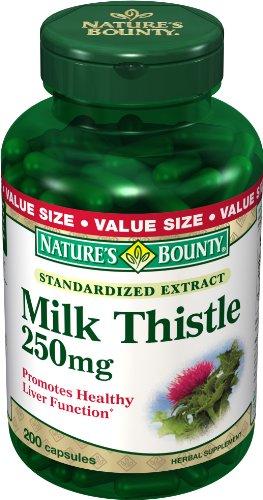 Nature Bounty Chardon-Marie 250 mg, 200 Capsules