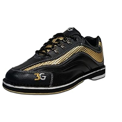 3G Mens Sport Ultra Bowling Shoes- Black/Gold