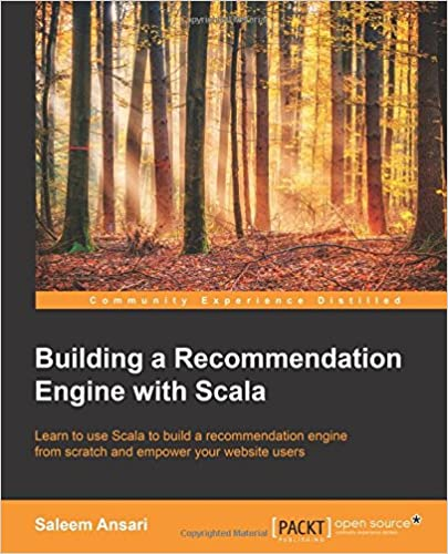 Building a Recommendation Engine with Scala ISBN-13 9781785282584