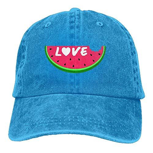 Hat Denim Cap Women Cowgirl Love for Cowboy Skull Watermelon Sport Men Bite Hats wrZtrqXxF