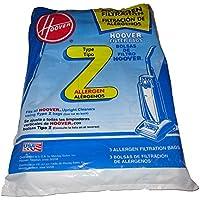 Hoover Type Z Allergen Filter Vacuum Bags - Three 3-packs (Total 9 bags)