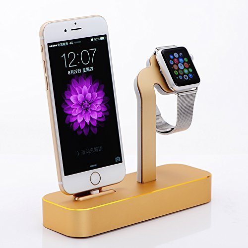 Apple Watch Stand, Kartice®2 in 1 Premium Aluminum Charging Dock Station Stand...