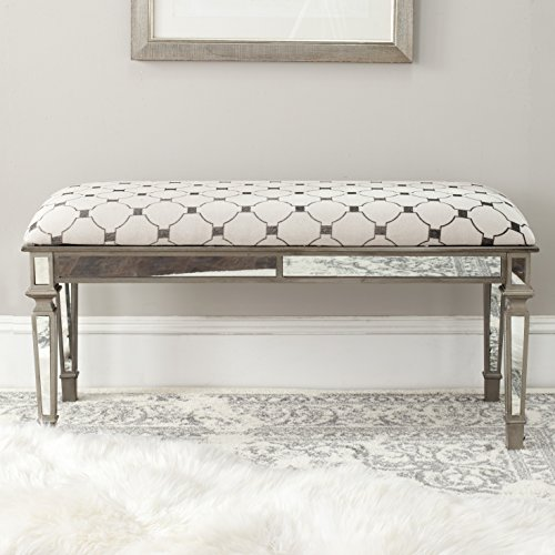 Safavieh American Homes Collection Layla Grey and Off-White Mirror (Entry Hall Mirror)
