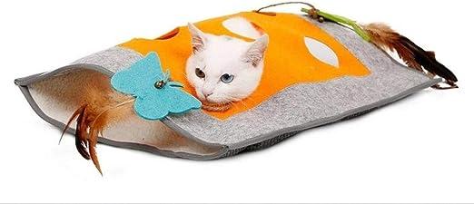 FoggDanieler Túneles para Gatos,Artículos para Gatos,Tubos y túneles para Animales pequeños,Juguetes Gato,Juguetes Gatos interactivos,Cat House,Gatos Accesorios,Conejos,Túneles,48 * 37 cm: Amazon.es: Productos para mascotas
