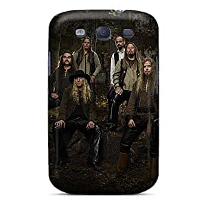 KennethKaczmarek Samsung Galaxy S3 Shock-Absorbing Hard Phone Cases Customized Beautiful Korpiklaani Band Image [BXp9915Iarr]