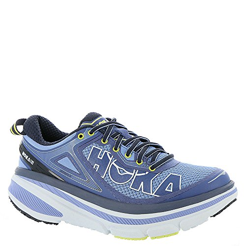 HOKA ONE ONE Women's Hydrangea/Sunny Lime Bondi 4 Women 6 B(M) US