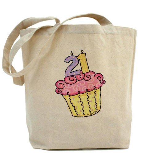 21st Tarta de cumpleaños bolsa bolso by CafePress by CafePress