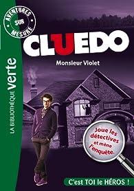 Aventures sur Mesure - Cluedo 05, Monsieur Violet par  Hasbro