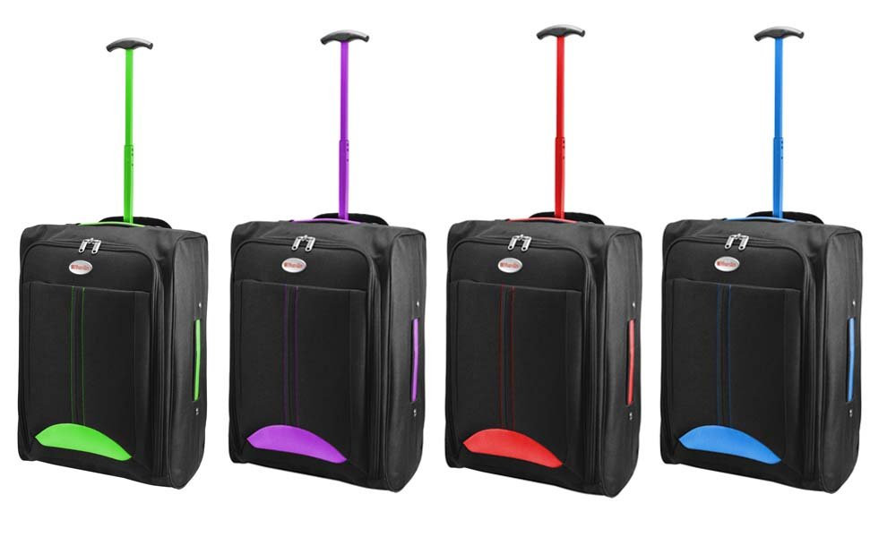 KEPLIN CABIN BAG LIGHTWEIGHT WHEELED BAG FLIGHT SUITCASE CASE HAND ...