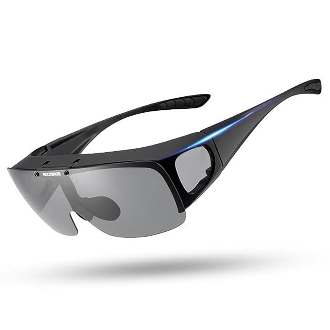 Gafas de sol polarizadas para hombres y mujeres Conducción pesca Ajuste más grande Gafas de sol polarizadas con polarización para arriba Fitover: Amazon.es: ...