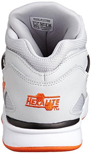 Reebok Lite Swag Gris Orange Black Pump White homme Baskets Omni mode Steel rHcrwCqE