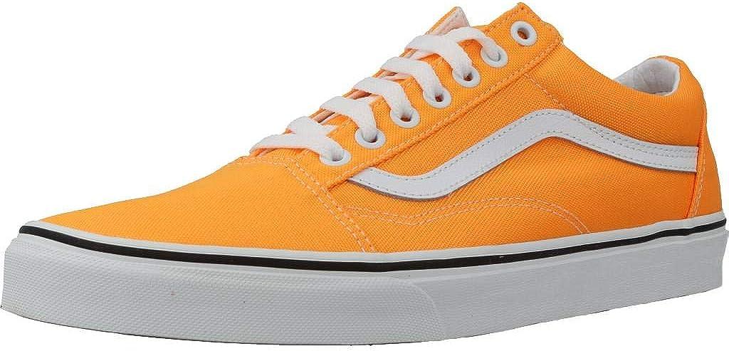 vans old skool arancioni