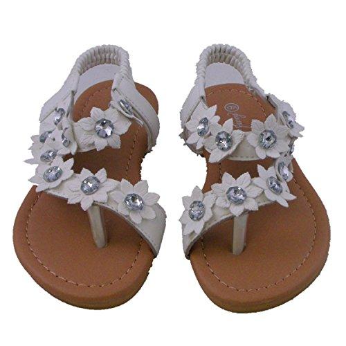 Blancho Beddengoed Sandalen Sumer Baby Meisje Wit