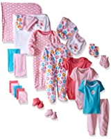 Luvable Friends Girls' Take Me Home Gift 24 Piece Cube