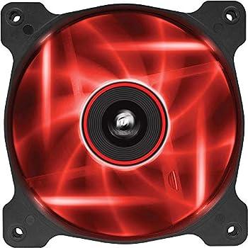 CorsairAir Series SP 120 LED Red High Static Pressure Fan Cooling - single pack