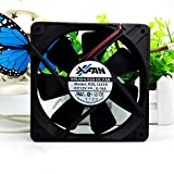 For RDL1225S 12025 12V 0.18A 12CM Ultra Silent Chassis Power Supply Fan