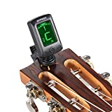 ammoon Guitar Tuner, Clip on Tuner Large LCD