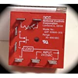 NCC Q2F-00600-325 30-600 Second 240VAC Cube Type One-Shot Time Delay Relay 1 Amp Load