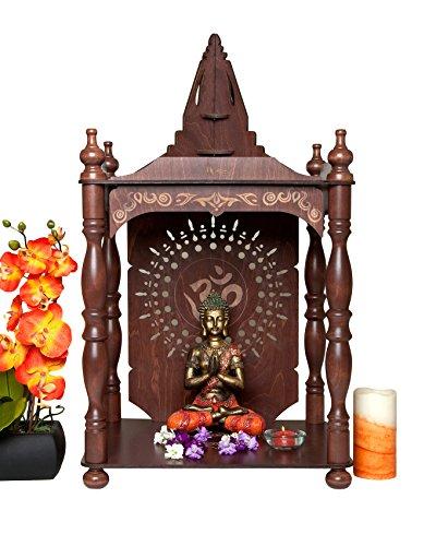 Large Home Temple Pooja Mandir Altar Mahogany Buy