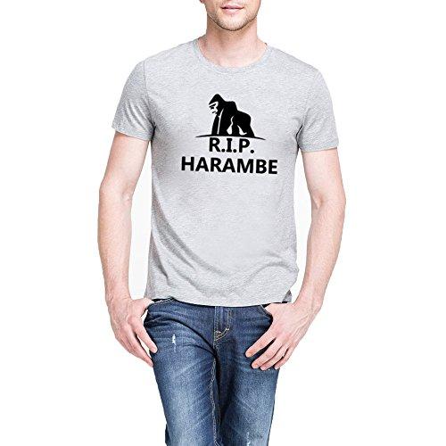 Loo Show Mens RIP Harambe Cincinnati Zoo T-Shirts Men -