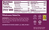 Nature's Bakery Whole Wheat Fig Bars, Original Fig, 12 Count - 2 oz Twin Packs , Vegan Snacks, Non-GMO