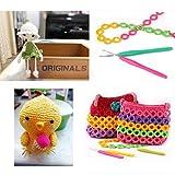 14 Pcs Crochet Hooks Set with Ergonomic Soft Grip