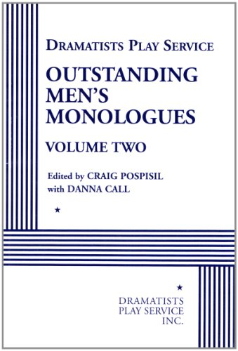 Outstanding Men's Monologues Volume Two - Acting Edition (Dramatists Play Service)