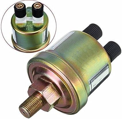 Amazon Com Doradus 1 8 Npt Oil Pressure Sensor Engine Oil Pressure Switch Sensor Gauge Sender Car Electronics