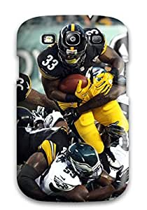 Tpu Case Cover For Galaxy S3 Strong Protect Case - Pittsburgteelers Design