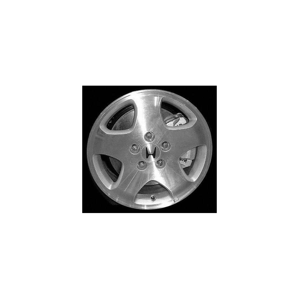 99 01 HONDA ODYSSEY ALLOY WHEEL RIM 16 INCH VAN, Diameter 16, Width 6.5 (5 SPOKE, 5 LUG), MACHINED FACE, 1 Piece Only, Remanufactured (1999 99 2000 00 2001 01) ALY63781U10