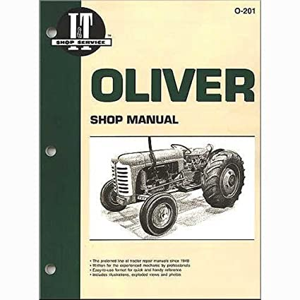 Amazon.com: I&T Shop Manual Collection Oliver Super 77 Super ... on