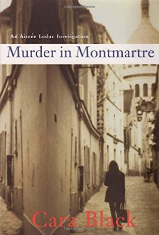 book cover of Murder in Montmartre