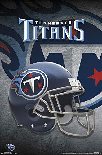 (Trends International Tennessee Titans - Helmet Wall Poster Multi)