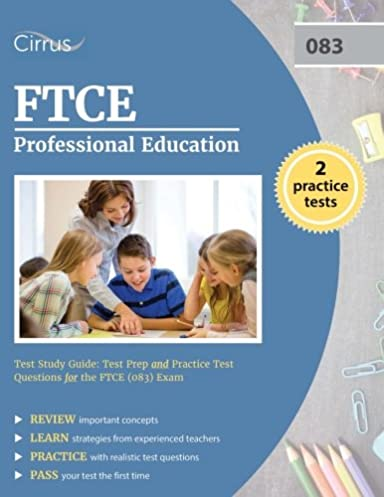 ftce professional education test study guide test prep and practice rh amazon com FTCE Practice Test FTCE Prep