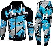 a2z4kids Kids Boys Tracksuit HNL Camouflage Hoodie & Botom Jog Suit Age 7-13 Y
