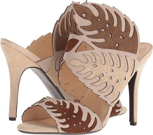 J.Renee Womens Anhelina Nude/Beige/Blue 9 W (J Renee Peep Toe Heels)
