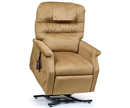 Golden Technologies Monarch PC-355L Large Lift Chair 3-Position Recliner - PR355-LRG Autumn Brown Fabric - In-Home Delivery and Setup