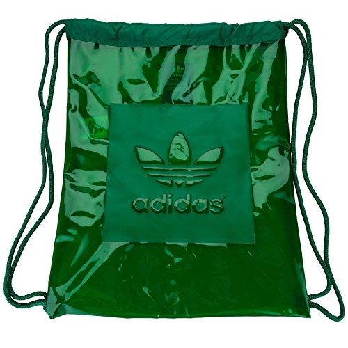Adidas Originals Women's Trefoil Gym Sack Bag One Size Green (Adidas Womens Gym)