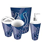The Northwest Company Indianapolis Colts NFL 4 Piece Bathroom Decorative Set (Scatter Series)