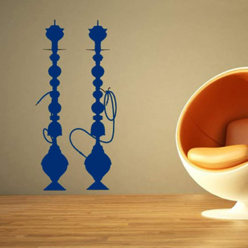 Pegatinas de pared de cachimba Shisha Vinyl Decal Cultura árabe ...