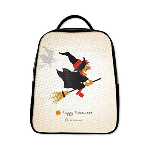 JIUDUIDODO Custom Best Gifts Giraffe PU Leather School Bag Outdoor Bag Backpacks Casual Bags