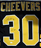 Autographed Gerry Cheevers Boston Bruins Jersey - JSA Authenticated
