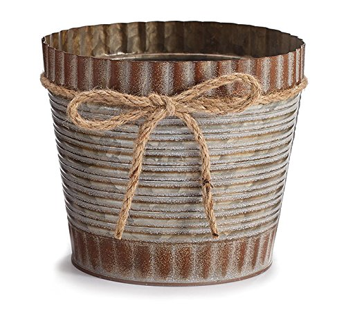 Decorative Plant Pot to Display Your Flowers and Plants Indoor and Outdoor. Perfect for Home, Patio, Lawn, Garden, Patio, Deck, Balcony, Front Porch & Backyard Decorating ideas. (Flower Ideas Patio)