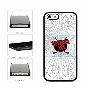 Detroit Ice Plastic Phone Case Back Cover Case For Iphone 6 4.7Inch Cover