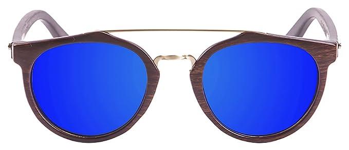 PALOALTO - Gafas de sol Richmond bambú marrón oscuro ...