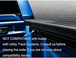 Camper Shell Topper AA-Racks P-AC-03 Clamp for Truck Cap ,Silver Set of 4 Tonneau Cover for a Short Bed Pickup Truck Truck Lid