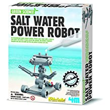 4M Salt Water Powered Robot Kit (1 Pack) by 4M