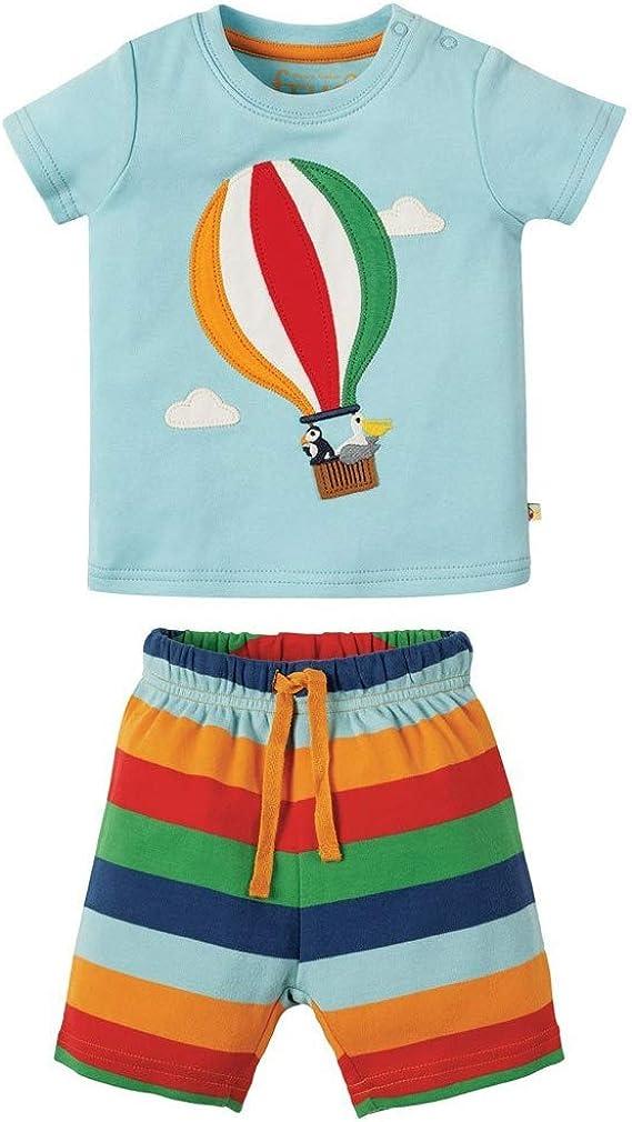 Conjunto de Ropa de algodón para niños pequeños con Camiseta de ...