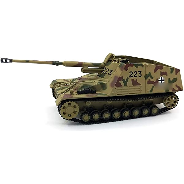 GERMAN Sd.Kfz.164 NASHORN 1//72 DIECAST MODEL FINISHED TANK 3R